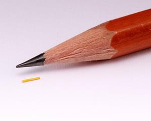 Medidur next to pencil tip