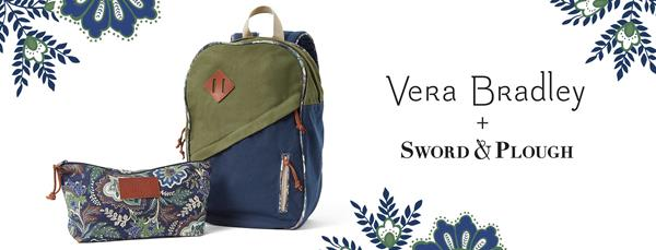 Vera Bradley + Sword & Plough Collaboration 2