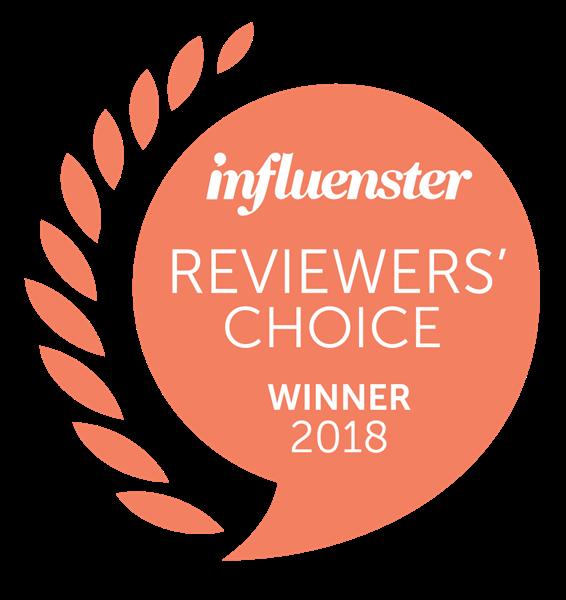 "Influenster ""Reviewers' Choice Awards: Best in Beauty"""