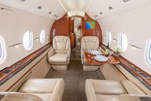 Silver Air Hawker 4000 Cabin
