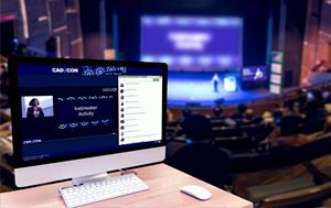 Attendees can live stream content online or view it on demand later. Audience response tools mean the conversation continues no matter where they are.