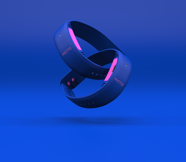 Mictic's patented, Swiss-engineered wristbands translate your movements into music and are preloaded with dozens of instruments and soundscapes from electric guitar to hip hop. Whether you're a pro or a beginner, this wearable will have you making music instantly. Find out more at mictic.com.