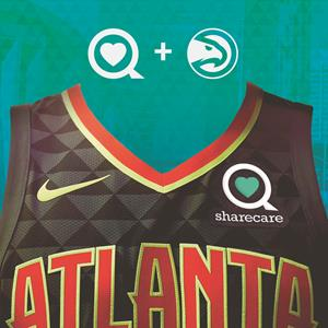 Sharecare and Atlanta Hawks Honored with 2017-18 NBA Partnership of the Year Award