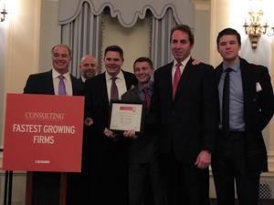 Fastest Growing Firm Award Ceremony