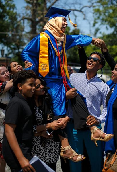 NC A&T STEM Early College Graduation
