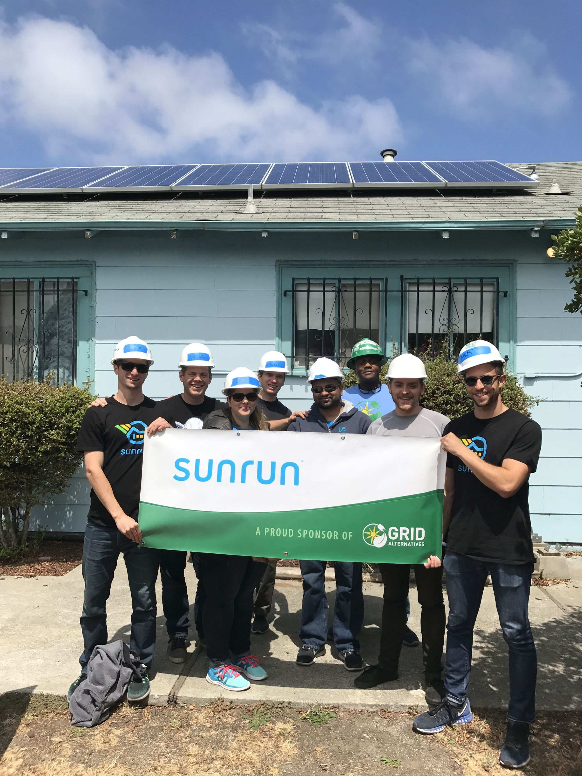 Sunrun and GRID Give Back