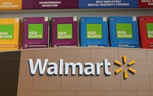 H&R Block and Walmart partnership