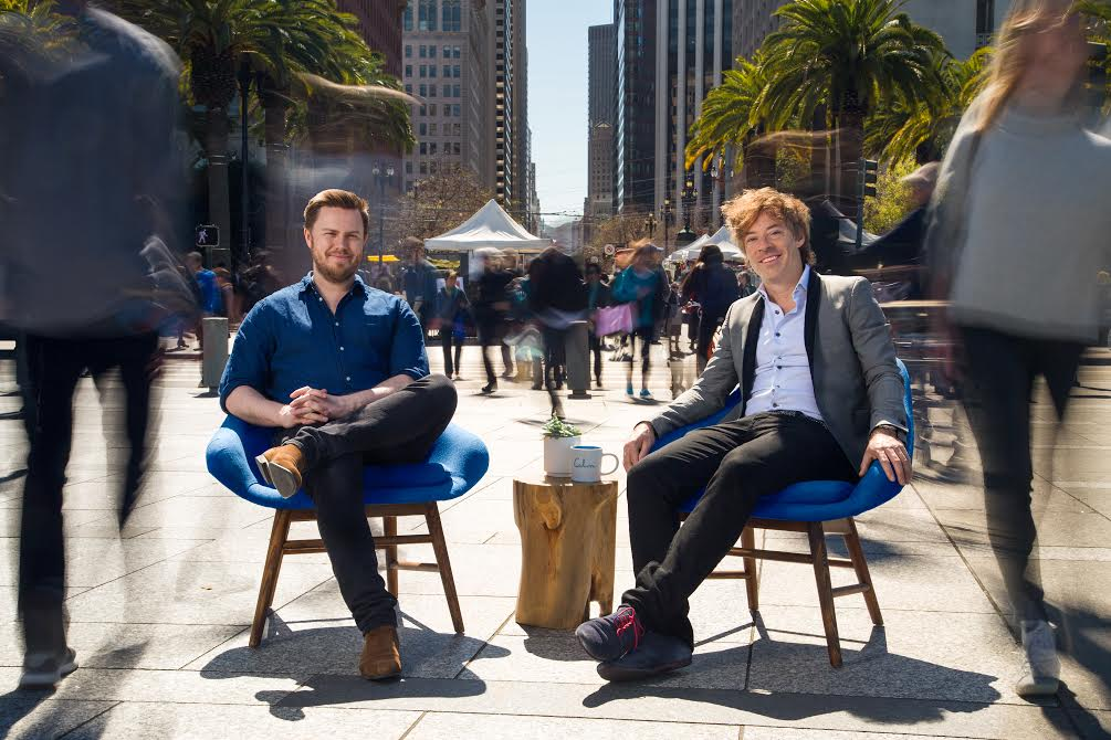 Calm co-CEOs and co-founders Alex Tew and Michael Acton Smith