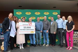 ECKRICH®, SAFEWAY, AND FORMER PORTLAND MAJOR LEAGUE SOCCER PLAYER NAT BORCHERS PARTNER TO SURPRISE FIVE LOCAL VETERANS