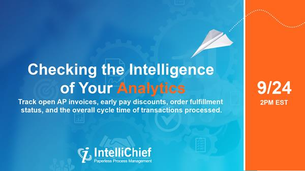 Checking the Intelligence of Your Analytics
