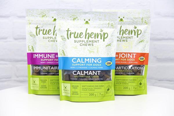 National Animal Supplement Council (NASC) Certified True Hemp™ Pet Supplements