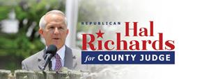 Hal Richards for County Judge