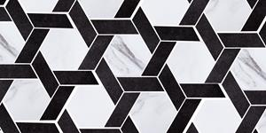 Carrara Blend Hex Weave