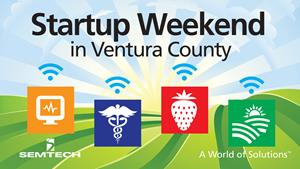 Semtech to Sponsor Second-Annual Startup Weekend Ventura County