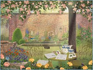 New Animated English Garden Released By Jacquie Lawson