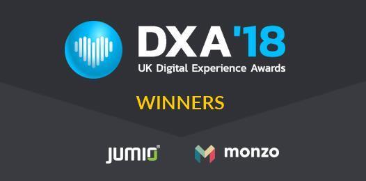 Jumio and Monzo win two gold awards at UK Digital Awards 2018