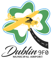Dublin Municipal Airport Logo