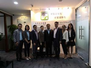 Representatives from KSP and GreenPro