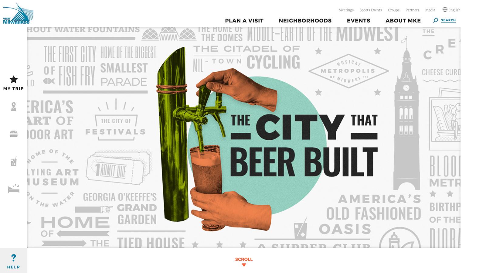 New VISIT Milwaukee website captures city's wonderfully random charm