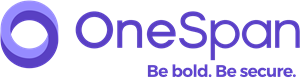 OneSpan logo and tagline