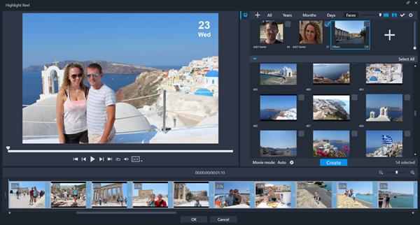 VideoStudio Ultimate 2020 - Highlight Reel