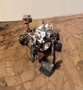 Mars Curiosity Rover - Credit NASA