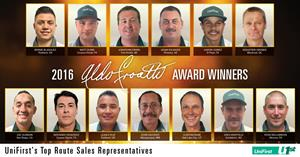 Delivering the Best: UniFirst Announces 2016 Aldo Croatti Award Winners