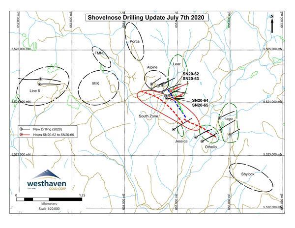 Shovelnose Drilling Update July 7th 2020