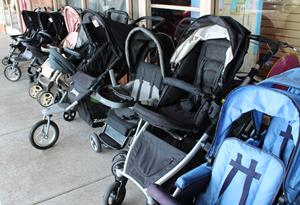 Baby equipment tested for safety