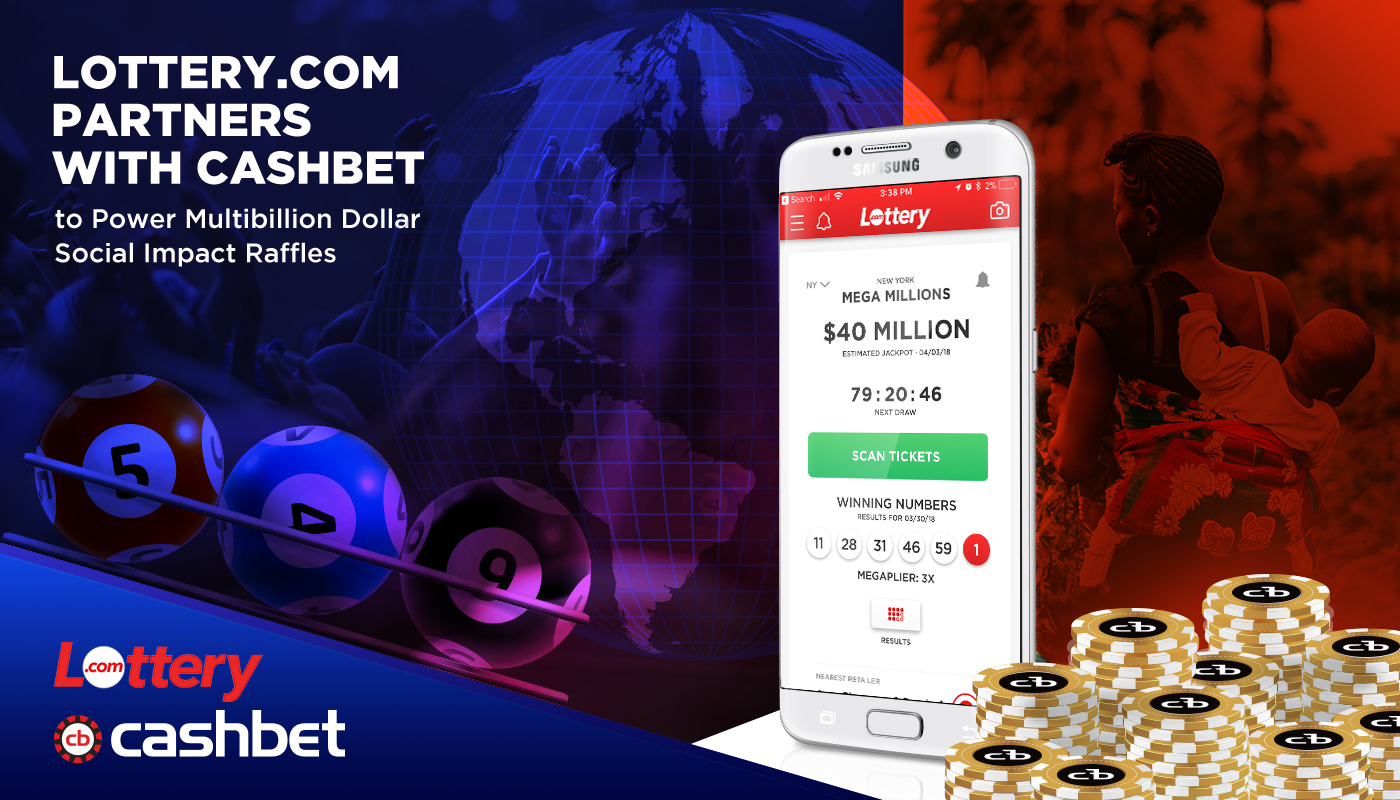 Lottery.com CashBet Partnership