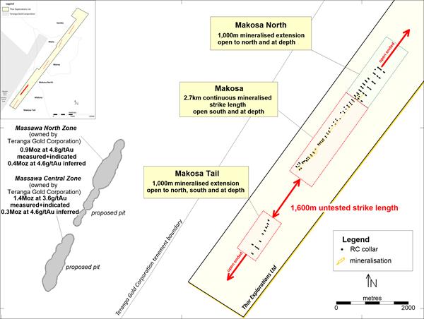 Makosa Tail location map