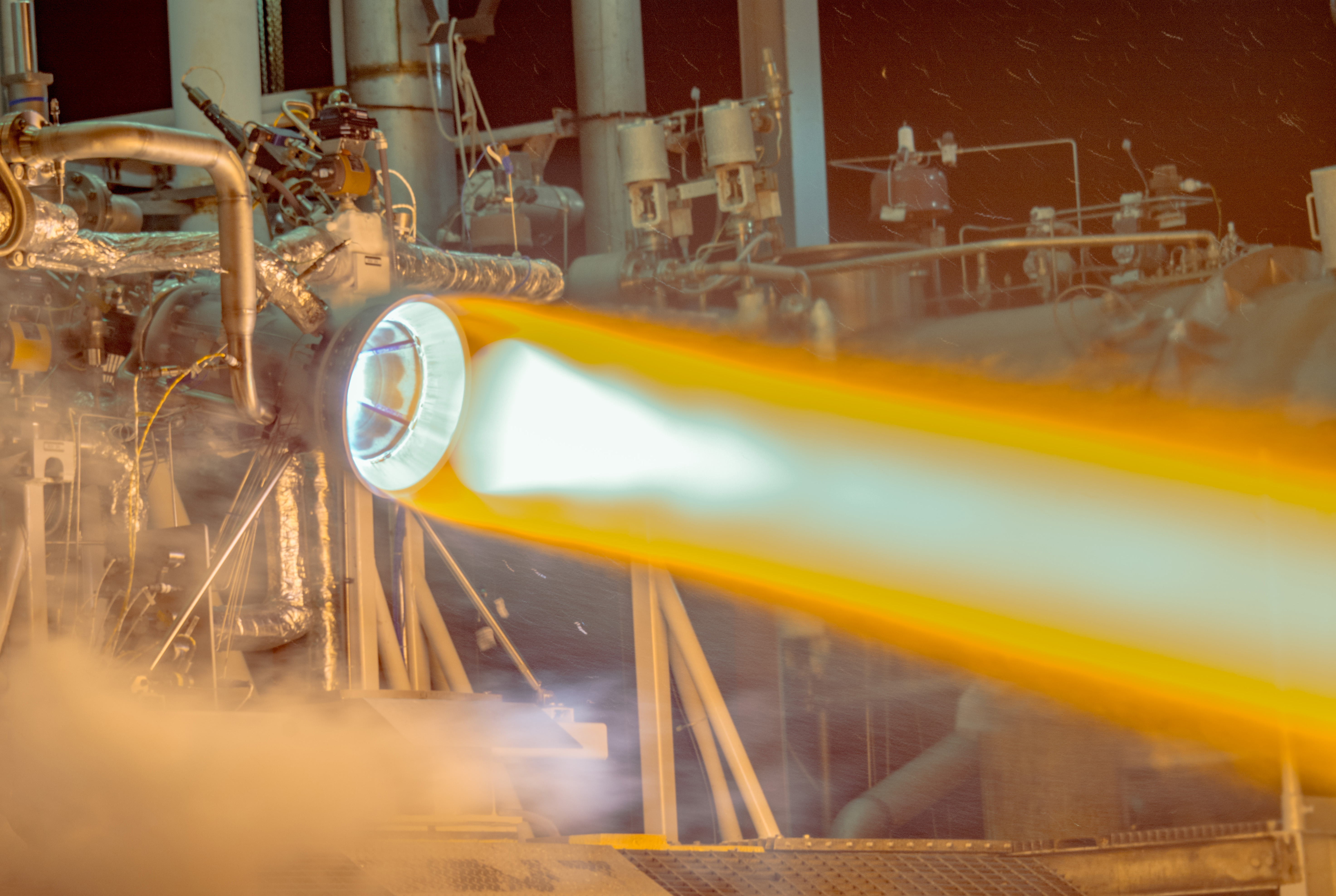 Aerojet Rocketdyne 3-D Printed Copper Thrust Chamber Assembly