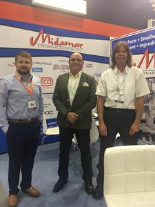 USA: Midamar exhibits restaurant equipment at Gulfood Manufacturing in Dubai