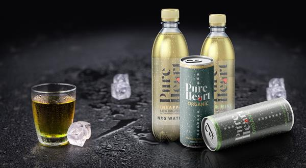 Called NRG Water, PureHeart is an innovative brand that focuses on using 100 percent organic raw materials with natural superfoods from the Amazon.
