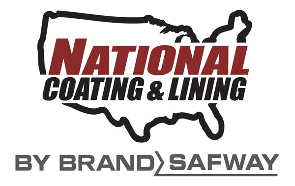 The updated logo for National Coating & Lining by BrandSafway.