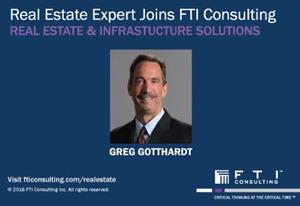 Greg Gotthardt joins FTI Consulting