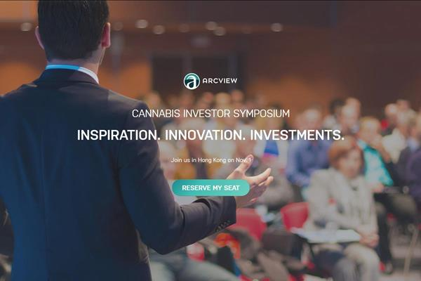The Arcview Group co-hosts Hong Kong's first ever Cannabis Investor Symposium, bringing together industry leaders & the investment community on Nov. 1, 2018 at the W Hotel. In partnership with CannaTech and URI Capital Management. Register now!