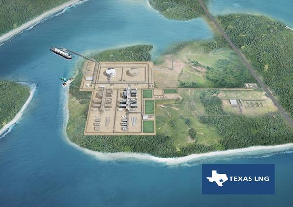 Texas LNG Planned Facilities