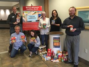 TopLine employees and members help fight hunger amid the rising demand at food shelves