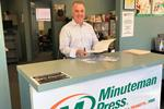 Marc Frechette, second-generation Minuteman Press franchisee, Seekonk, MA. Marc's family has now owned Minuteman Press in Seekonk for over 30 years.