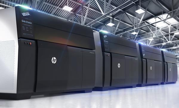 HP Metal Jet Factory