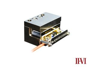 New Acousto-optic Q-switch (AOQS) Modules for Diode Pumped Solid State (DPSS) Lasers from II-VI Photop