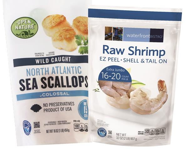 Albertsons Companies announced that 100 percent of the seafood in its celebrated waterfront BISTRO® and Open Nature® lines of Own Brands products will soon display the Responsible Choice™ logo for sustainable sourcing. The logo, displayed on the bottom left of the front panel, signifies that the seafood is responsibly caught or farmed.