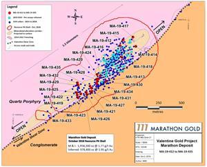 October 2, 2019 Drill Map