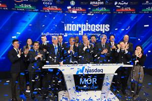 MorphoSys AG Rings The Nasdaq Stock Market Opening Bell in Celebration of its IPO