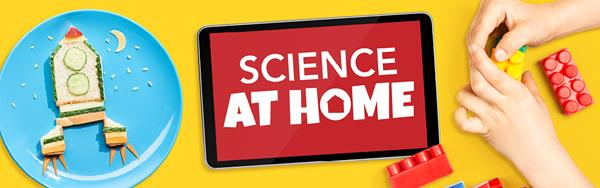 Parents, students, and educators can plan to make the Science Center part of their routine with online Science At Home content.