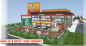 Dine In & Drive Thru Concept
