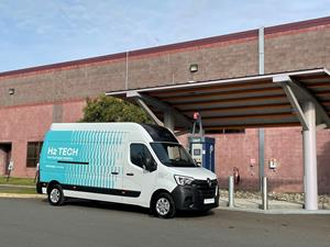 Plug Power Inc. has unveiled the HYVIA hydrogen 'Renault Master Van H2-TECH prototype' for the first time in North America.