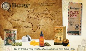 Nature's Heritage Cannabis available from Kind Therapeutics USA