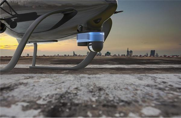 Near Earth Autonomy's future concept of a sensing and computing payload designed to ensure reliable and safe landing.